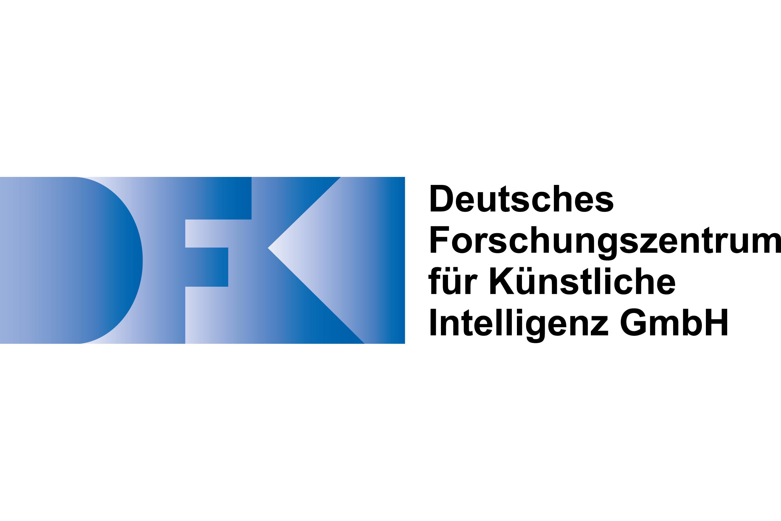Auf diesem Bild sieht man das Logo vom Deutschen Forschungszentrum für Künstliche Intelligenz GmbH zu sehen.