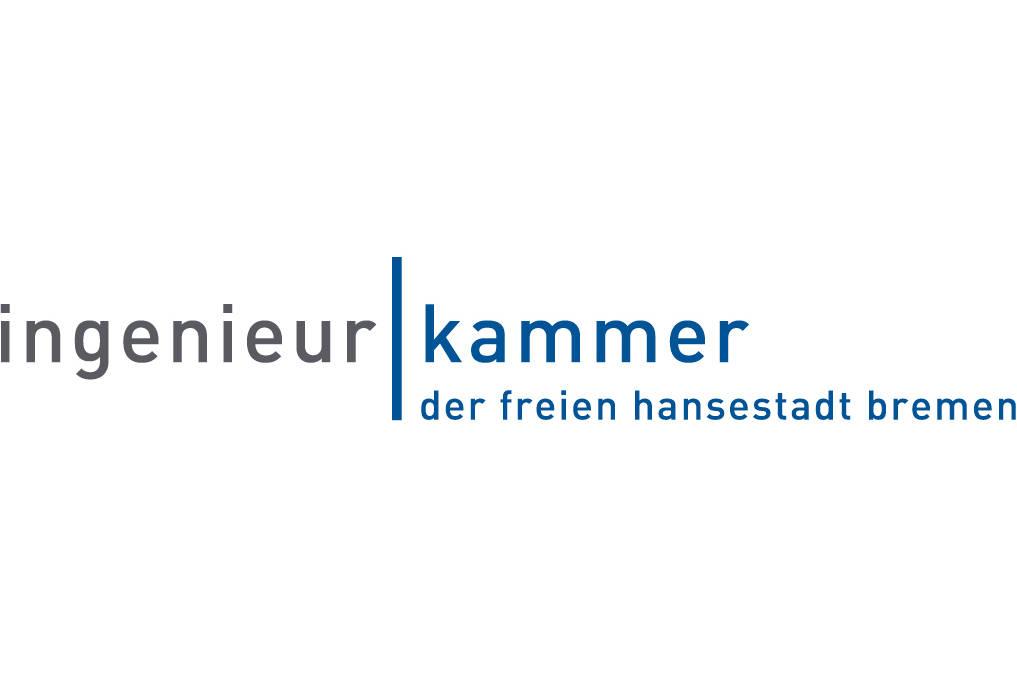Das Bild zeigt das Logo der Ingenieurkammer der freien Hansestadt Bremen.