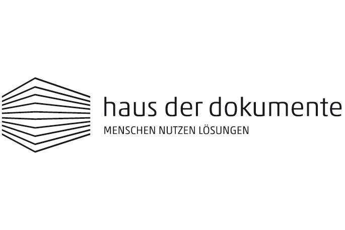 Auf diesem Bild sieht man das Logo vom Haus der Dokumente