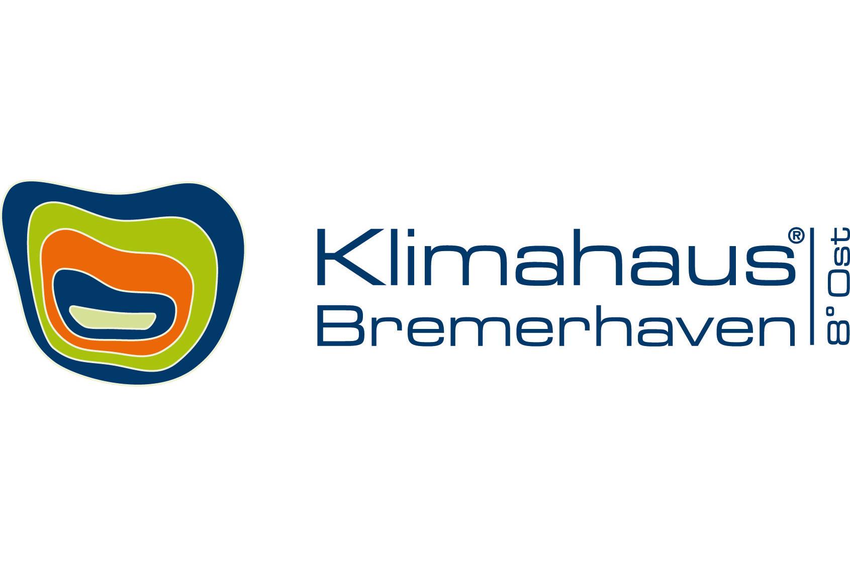 Auf diesem Bild kann man das Logo vom Klimahaus Bremerhaven 8° Ost sehen.