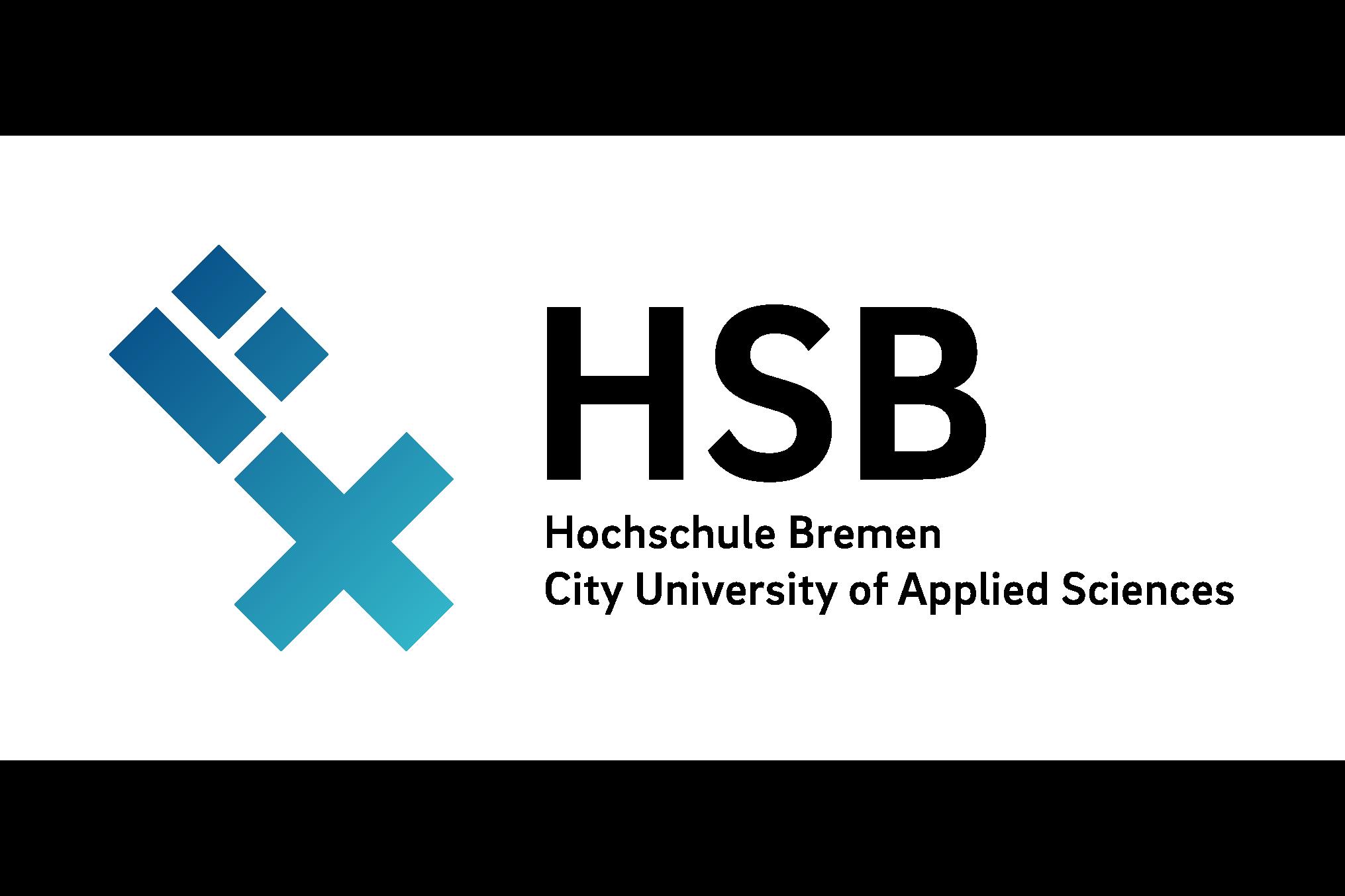 Auf dem Bild ist das Logo der Hochschule Bremen zu sehen.