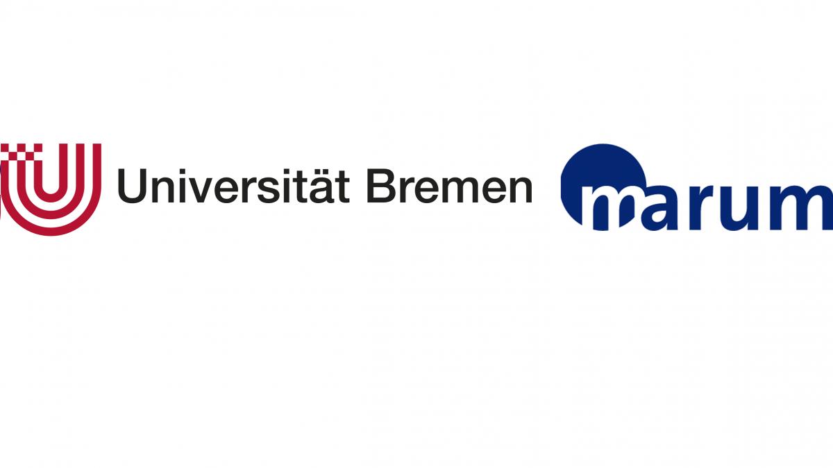 Das Logo von marum der Universität Bremen.