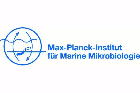 Auf dem Bild ist das Logo vom Max-Planck-Institut für Marine Mikrobiologie zu sehen.