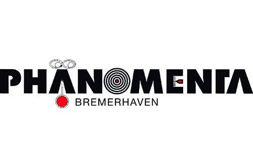 Das Bild zeigt das Logo von Phänomenta Bremerhaven