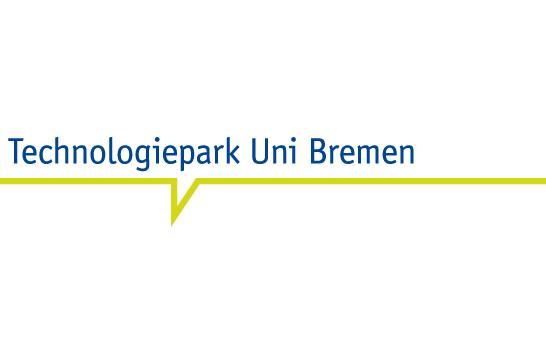 Hier ist das Logo vom Technologiepark Uni Bremen zu sehen.
