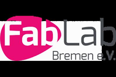 """Auf dem Bild sieht man das Logo des """"FabLab Bremen e.V."""""""