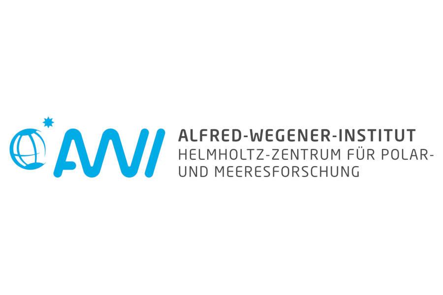 Das Bild zeigt das Logo des Alfred-Wegener-Instituts, kurz AWI.
